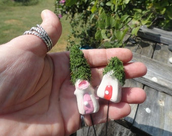 awesome set of 16 fairy gnome homes great for partys birthday favor topper decorations fantasy terrarium