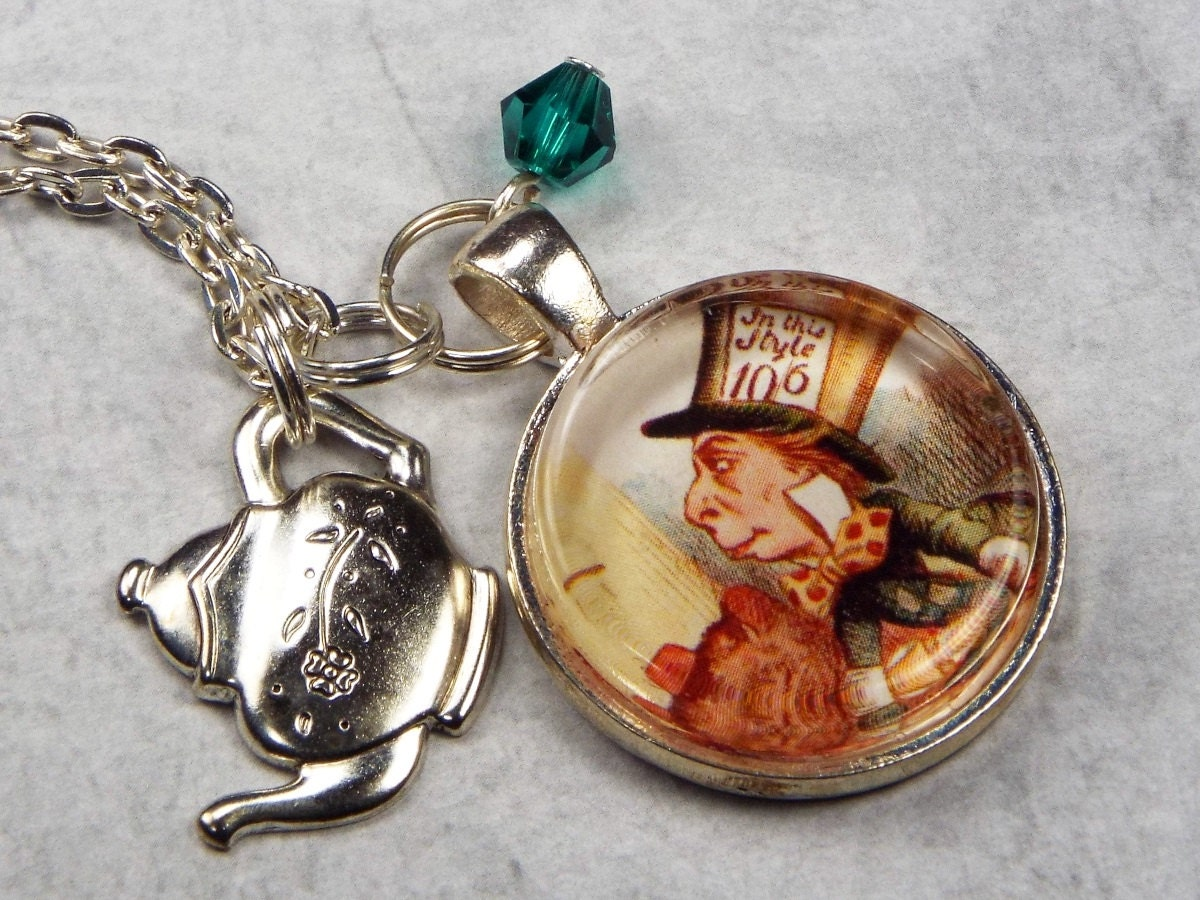 mad hatter necklace in jewelry by fripparie