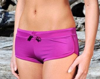Orchid Retro Boyshort Bikini Bottom
