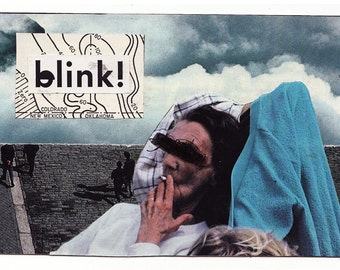 blink - *SALE* ORIGINAL COLLAGE