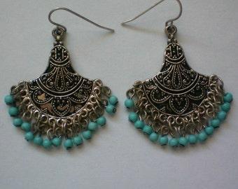 Fabulous India Beaded Dangle Earrings - 3626