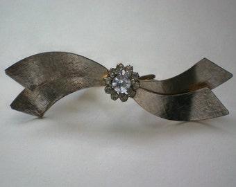 Alligator Clip Bow Tie Collar Clip - 3812