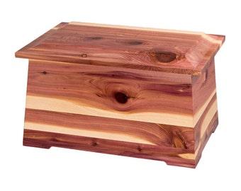 Cedar Sonata Wood Cremation Urn
