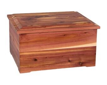 Cedar Companion Wood Cremation Urn