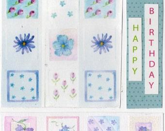Flowery Birthday card