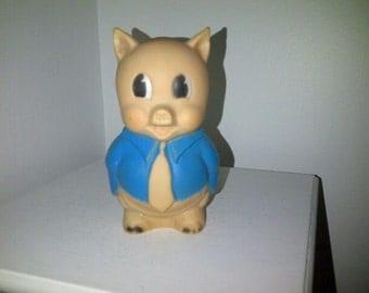 Vintage Porky Pig Squeak Toy