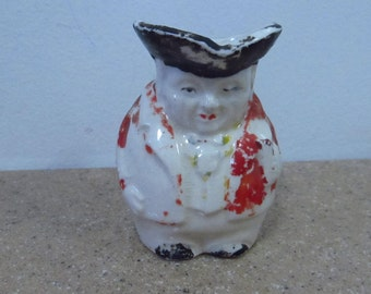 Colonial Man Creamer Toby Pitcher