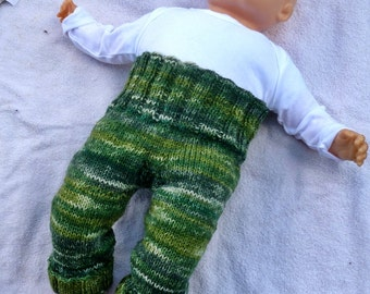 Baby pants wool pants * * grows with your child from 62