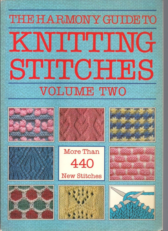 Guide To Knitting Stitches : Harmony Guide to Knitting Stitches, Volume 2