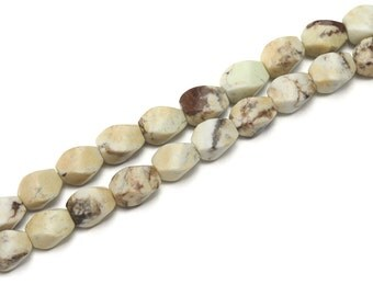 Australian Turquoise  Bead . Jewelry Making . Craft Supply . Australian Turquoise Gemstone Bead