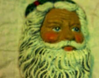 Santa Head Magnet