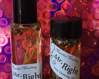 Mr. Right - Love Drawing Oil