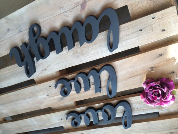 script wooden letters live love laugh modern kitchen wall art live love laugh wood