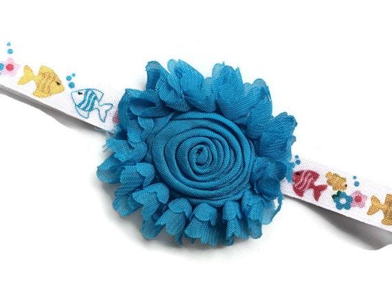 Flower Headband for Girls Under the Sea Headband Fish