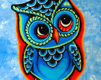 Hootie PDF Chart by Northern Expressions Needlework INK