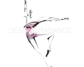 "Dance Digital Image Titled ""Abstract Piqué"". Download Dance Art. For dancers, choreographers, teachers, and studio owners."