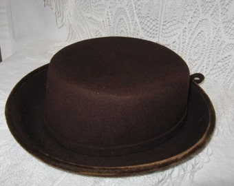Cute Cute Cute Brown Vintage Hat