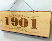 Customized Tree Trunk Slice Wall Hanging