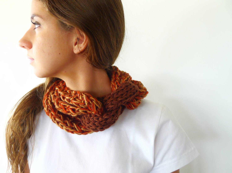 Bufanda collar multicolor. Bufanda circular. Bufandas por KEENbyAM