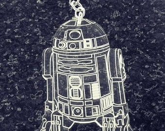 R2D2 Star Wars Charm on a key chain or necklace