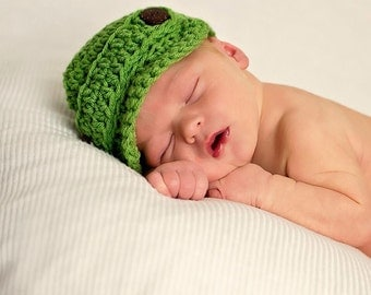 Spring Green Newsboy hat