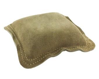 "Leather Sand Bag Square 5"" x 5""  (DA5705)"