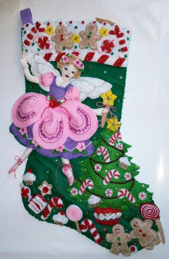 bucilla sugar plum fairy stocking eBay