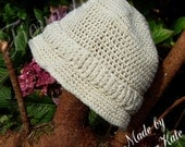 Crochet Boys safari style hat - 3 to 4 years