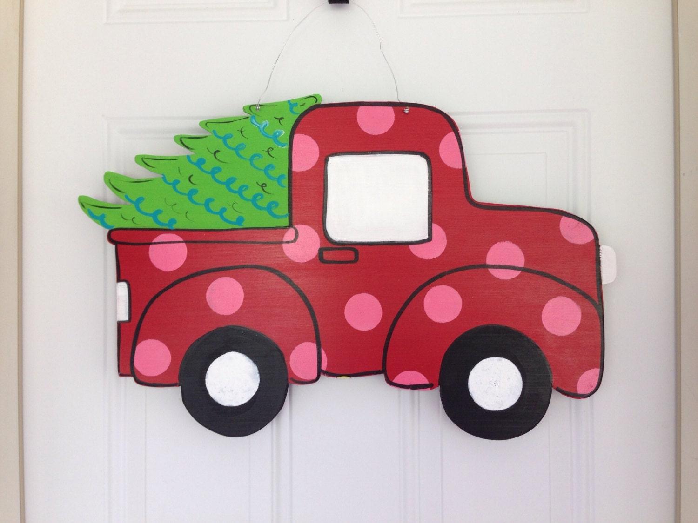 Everybody loves christmas door hanger