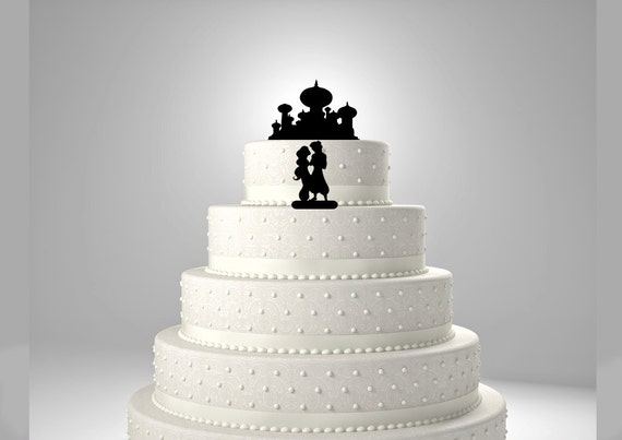 Aladdin Cake Toppers Wedding