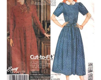 McCall's Sewing Pattern 2682 Misses' Dress and Tie Belt Used