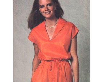 Simplicity Sewing Pattern 9022 Misses' Pullover Dress Size:  R  14-16-18 or O  12-14-16  Uncut