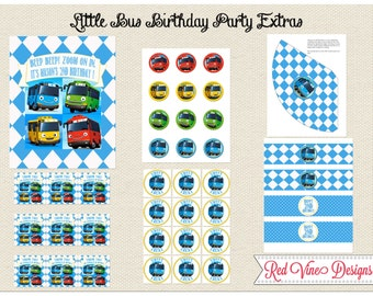 Tayo/Little Bus Extra Printables