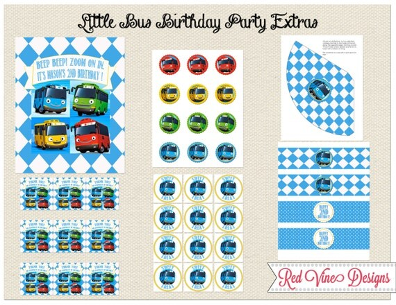 Tayo Little Bus Extra Printables