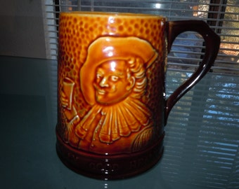 1950s Falcon Ware England number 1775  Jolly Good Health embossed