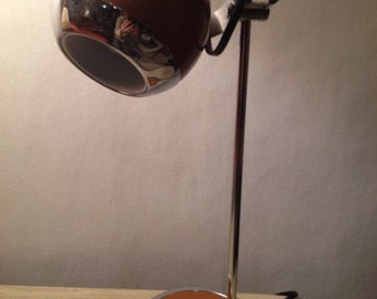 FREE SHIPPING  Midcentury Modern ART Deco Desk Lamp Hamilton Industries 1970s