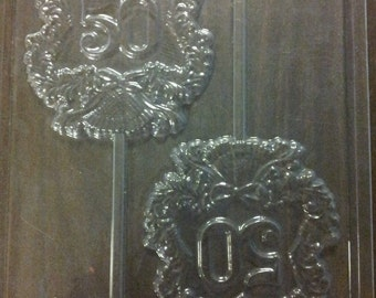 50TH Anniversary Chocolate Lollipop Mold