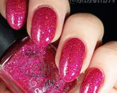 Ruby Slippers by Prettypots Polish - Wizard of Oz Collection - 12ml Handmixed Glitter Aussie Indie Nail Polish Lacquer