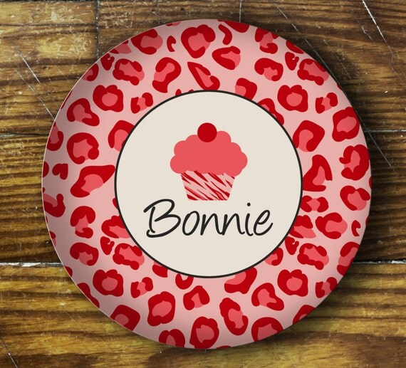 Personalized Dinner Plate or Bowl - Bonnie