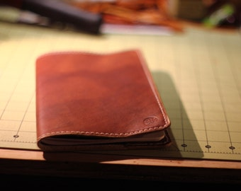 Leather Moleskine Cover in Brown - Legacy Brand Leather Hand Stitched