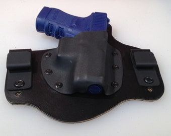 IWB Hybrid Leather and Kydex Holster for Glock 30 30s