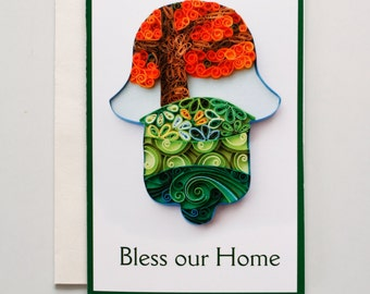 Bless our home card