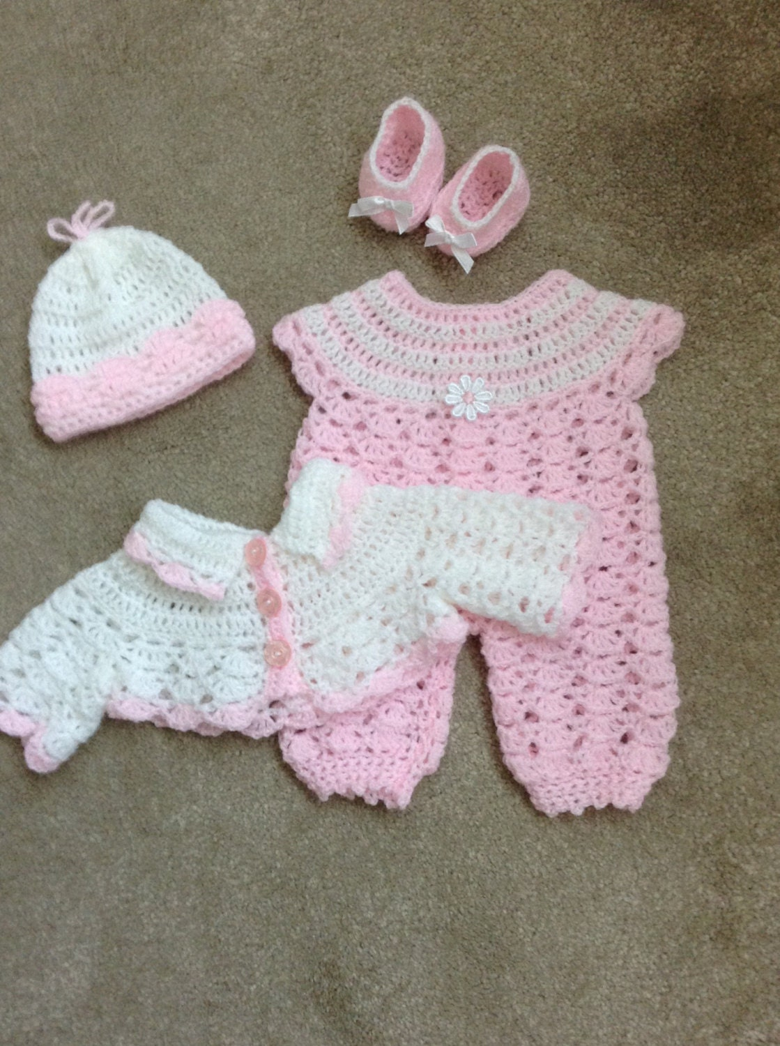 crochet dolls clothes to fit 14 15 baby doll reborn baby