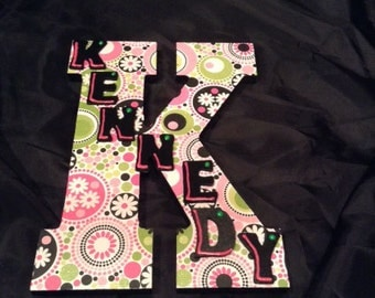 Personalize Letter Name-Girl - Design your own