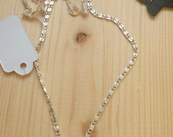 Sterling silver Swarovski medium vitrail pedant necklace, sterling silver , swarovski medium vitrail, for her, vitage, accesories