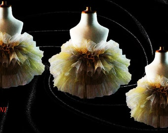 Gold and Silver Tutu Multi Layer Option