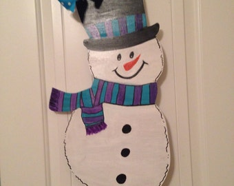 Snowman is Ready to Welcome Winter