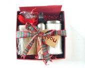 READY TO SHIP! Winter Theme Gift Basket- Holiday Gift Box- Christmas Box- Gift Box