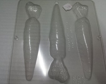 carrot chocolate mold,carrot candy mold,candy making supplies,easter candy mold