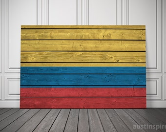 Colombia Canvas Flag